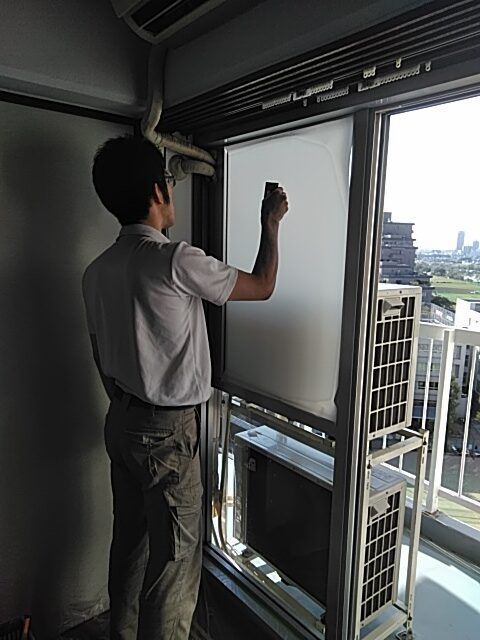 ダイノック・ガラスフィルムの施工事例