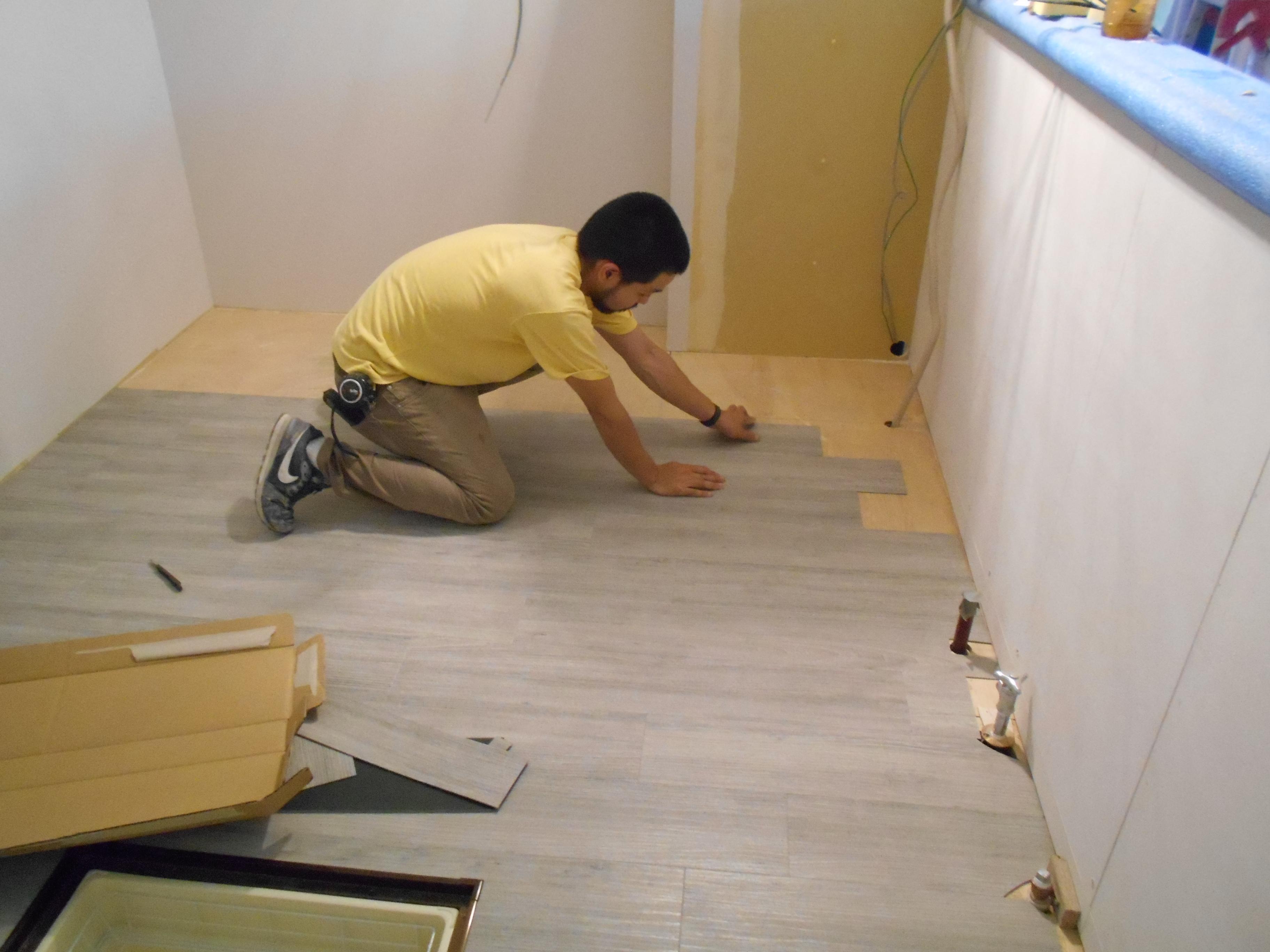 床の施工事例