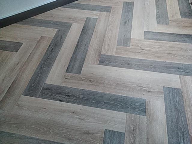 床の特殊張りの事例